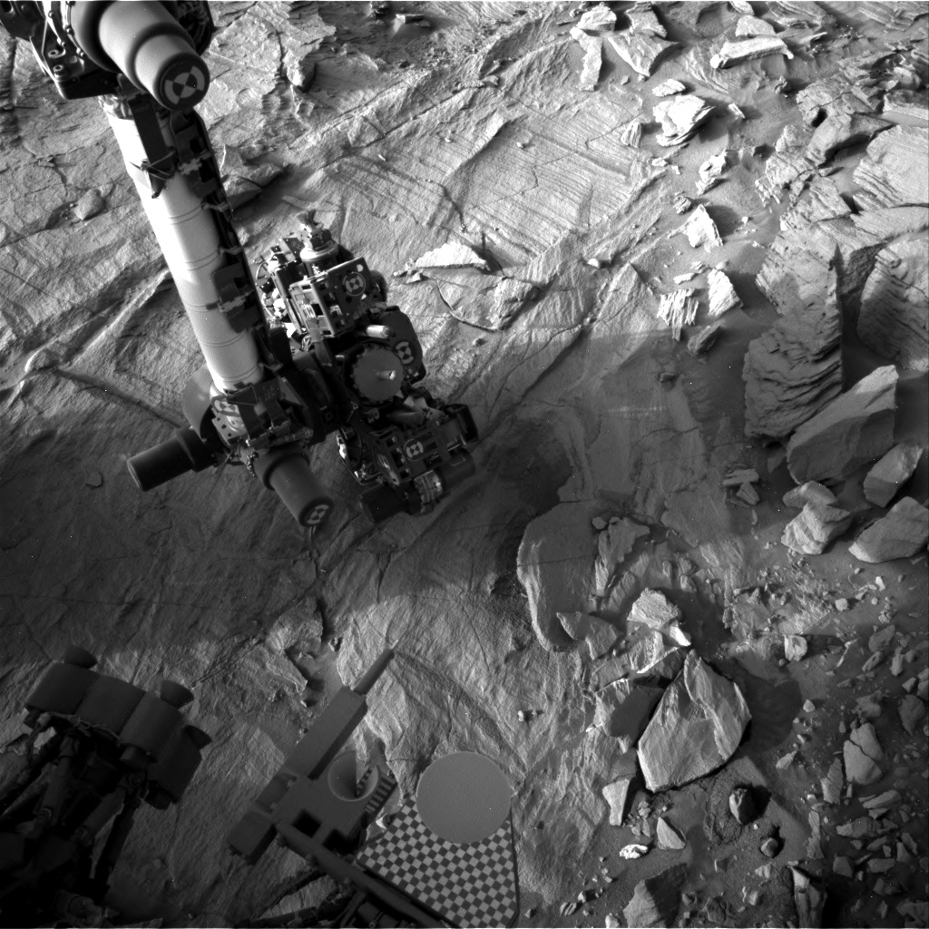 Nasa's Mars rover Curiosity acquired this image using its Right Navigation Camera on Sol 1339, at drive 938, site number 54