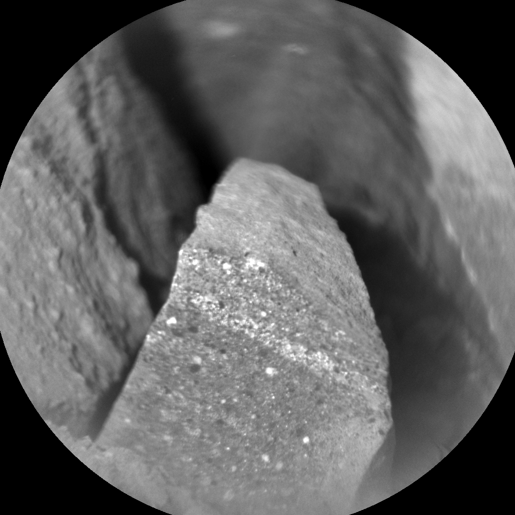 Nasa's Mars rover Curiosity acquired this image using its Chemistry & Camera (ChemCam) on Sol 1340, at drive 938, site number 54