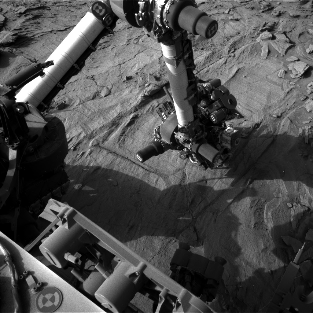 Nasa's Mars rover Curiosity acquired this image using its Left Navigation Camera on Sol 1341, at drive 938, site number 54