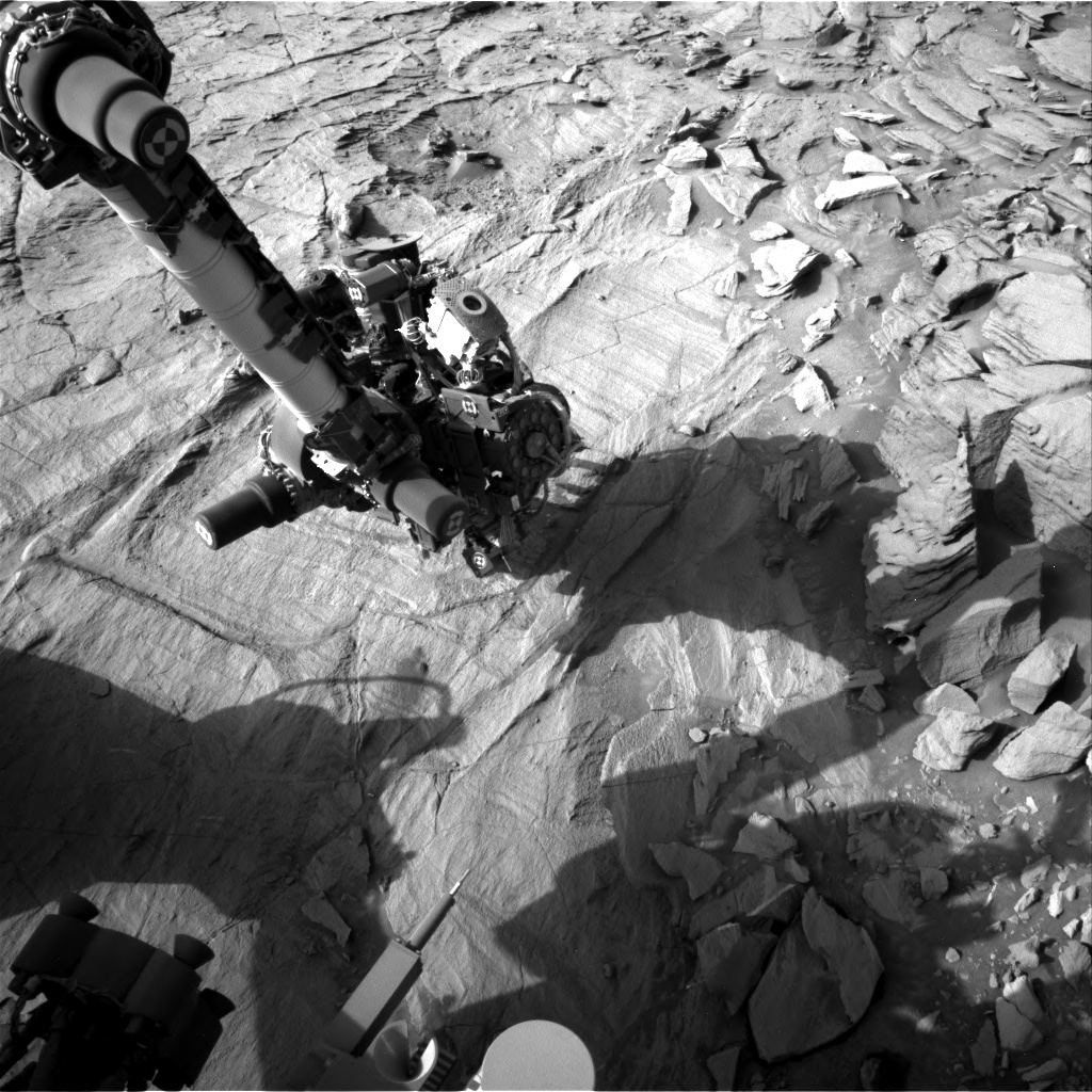 Nasa's Mars rover Curiosity acquired this image using its Right Navigation Camera on Sol 1341, at drive 938, site number 54