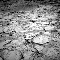 Nasa's Mars rover Curiosity acquired this image using its Left Navigation Camera on Sol 1342, at drive 968, site number 54