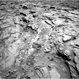Nasa's Mars rover Curiosity acquired this image using its Left Navigation Camera on Sol 1342, at drive 980, site number 54