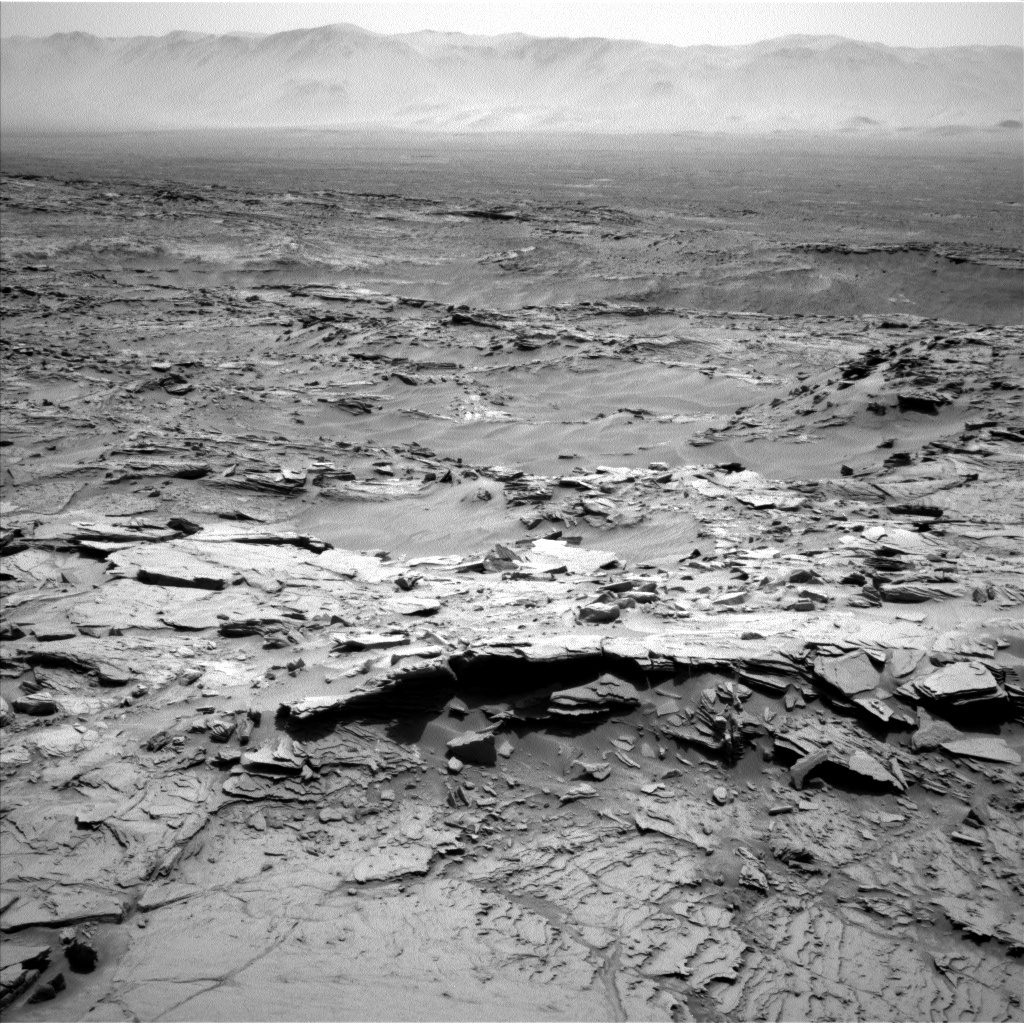 NASA's Mars rover Curiosity acquired this image using its Left Navigation Camera (Navcams) on Sol 1342