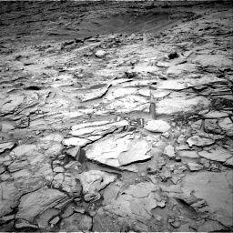 Nasa's Mars rover Curiosity acquired this image using its Right Navigation Camera on Sol 1342, at drive 956, site number 54