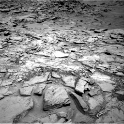 Nasa's Mars rover Curiosity acquired this image using its Right Navigation Camera on Sol 1342, at drive 974, site number 54