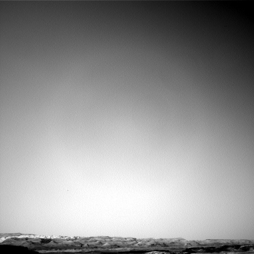 NASA's Mars rover Curiosity acquired this image using its Left Navigation Camera (Navcams) on Sol 1343