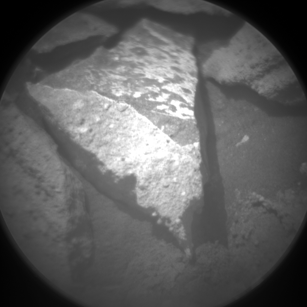 Nasa's Mars rover Curiosity acquired this image using its Chemistry & Camera (ChemCam) on Sol 1344, at drive 992, site number 54