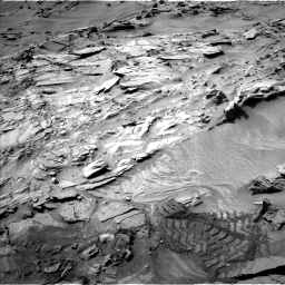 Nasa's Mars rover Curiosity acquired this image using its Left Navigation Camera on Sol 1344, at drive 1172, site number 54