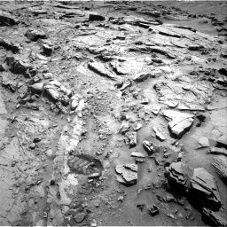 Nasa's Mars rover Curiosity acquired this image using its Right Navigation Camera on Sol 1344, at drive 1016, site number 54