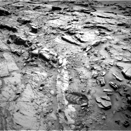 Nasa's Mars rover Curiosity acquired this image using its Right Navigation Camera on Sol 1344, at drive 1022, site number 54