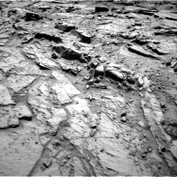 Nasa's Mars rover Curiosity acquired this image using its Right Navigation Camera on Sol 1344, at drive 1028, site number 54