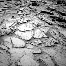 Nasa's Mars rover Curiosity acquired this image using its Right Navigation Camera on Sol 1344, at drive 1040, site number 54