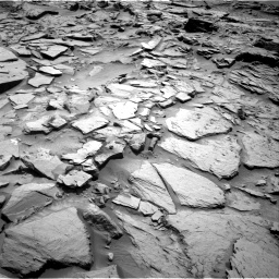 Nasa's Mars rover Curiosity acquired this image using its Right Navigation Camera on Sol 1344, at drive 1046, site number 54