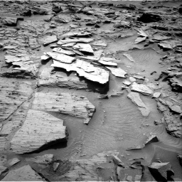 Nasa's Mars rover Curiosity acquired this image using its Right Navigation Camera on Sol 1344, at drive 1094, site number 54