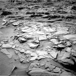 Nasa's Mars rover Curiosity acquired this image using its Right Navigation Camera on Sol 1344, at drive 1106, site number 54