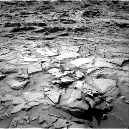 Nasa's Mars rover Curiosity acquired this image using its Right Navigation Camera on Sol 1344, at drive 1112, site number 54