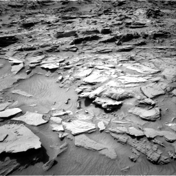 Nasa's Mars rover Curiosity acquired this image using its Right Navigation Camera on Sol 1344, at drive 1124, site number 54