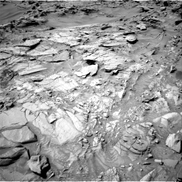 Nasa's Mars rover Curiosity acquired this image using its Right Navigation Camera on Sol 1344, at drive 1196, site number 54