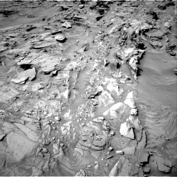 Nasa's Mars rover Curiosity acquired this image using its Right Navigation Camera on Sol 1344, at drive 1208, site number 54