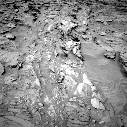 Nasa's Mars rover Curiosity acquired this image using its Right Navigation Camera on Sol 1344, at drive 1220, site number 54