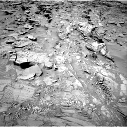 Nasa's Mars rover Curiosity acquired this image using its Right Navigation Camera on Sol 1344, at drive 1226, site number 54