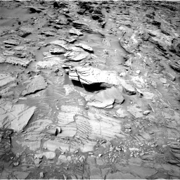 Nasa's Mars rover Curiosity acquired this image using its Right Navigation Camera on Sol 1344, at drive 1232, site number 54