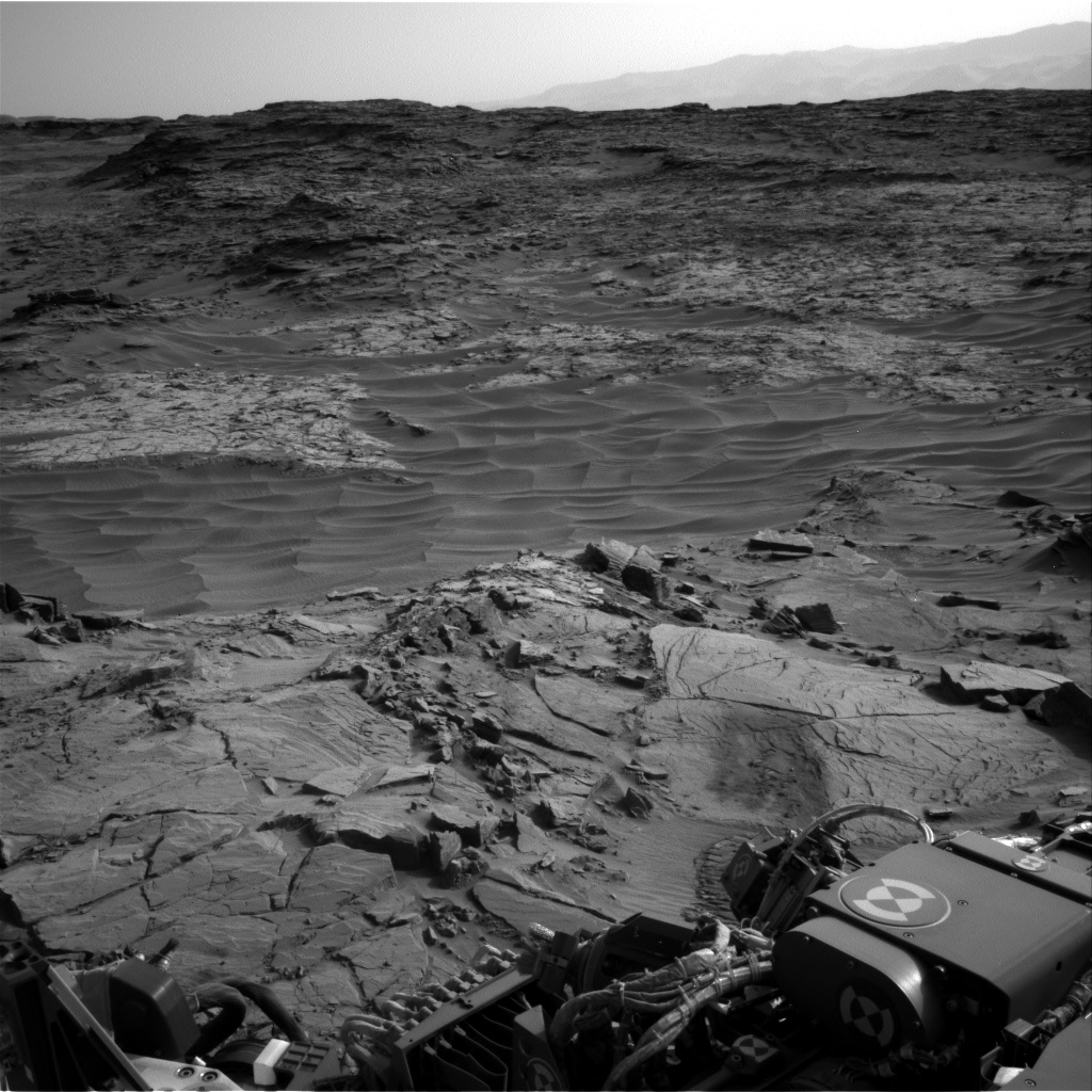 Nasa's Mars rover Curiosity acquired this image using its Right Navigation Camera on Sol 1344, at drive 1238, site number 54