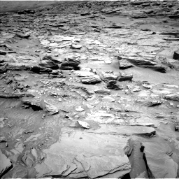Nasa's Mars rover Curiosity acquired this image using its Left Navigation Camera on Sol 1346, at drive 1280, site number 54