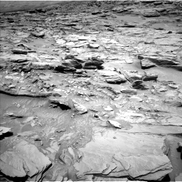 Nasa's Mars rover Curiosity acquired this image using its Left Navigation Camera on Sol 1346, at drive 1286, site number 54
