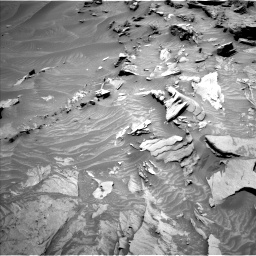 Nasa's Mars rover Curiosity acquired this image using its Left Navigation Camera on Sol 1346, at drive 1370, site number 54