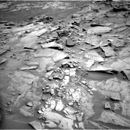 Nasa's Mars rover Curiosity acquired this image using its Left Navigation Camera on Sol 1346, at drive 1412, site number 54