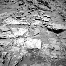 Nasa's Mars rover Curiosity acquired this image using its Right Navigation Camera on Sol 1346, at drive 1238, site number 54