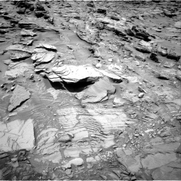 Nasa's Mars rover Curiosity acquired this image using its Right Navigation Camera on Sol 1346, at drive 1244, site number 54