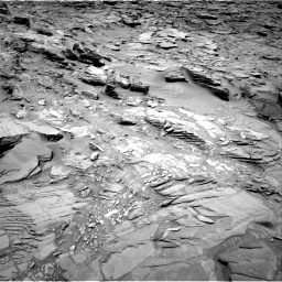 Nasa's Mars rover Curiosity acquired this image using its Right Navigation Camera on Sol 1346, at drive 1250, site number 54