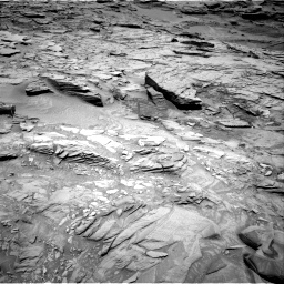 Nasa's Mars rover Curiosity acquired this image using its Right Navigation Camera on Sol 1346, at drive 1268, site number 54