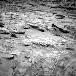 Nasa's Mars rover Curiosity acquired this image using its Right Navigation Camera on Sol 1346, at drive 1274, site number 54