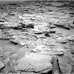 Nasa's Mars rover Curiosity acquired this image using its Right Navigation Camera on Sol 1346, at drive 1286, site number 54