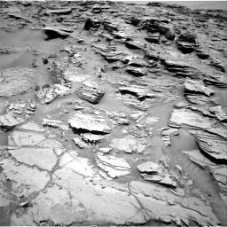 Nasa's Mars rover Curiosity acquired this image using its Right Navigation Camera on Sol 1346, at drive 1304, site number 54