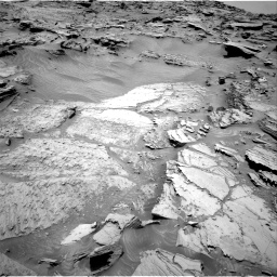 Nasa's Mars rover Curiosity acquired this image using its Right Navigation Camera on Sol 1346, at drive 1316, site number 54