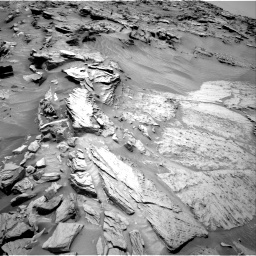 Nasa's Mars rover Curiosity acquired this image using its Right Navigation Camera on Sol 1346, at drive 1340, site number 54