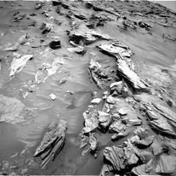 Nasa's Mars rover Curiosity acquired this image using its Right Navigation Camera on Sol 1346, at drive 1352, site number 54