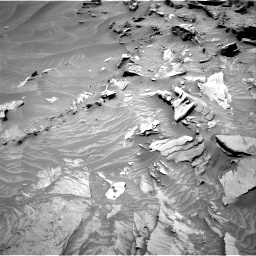 Nasa's Mars rover Curiosity acquired this image using its Right Navigation Camera on Sol 1346, at drive 1382, site number 54