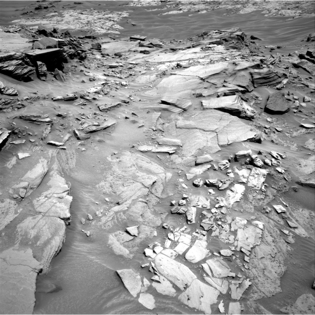 Nasa's Mars rover Curiosity acquired this image using its Right Navigation Camera on Sol 1346, at drive 1412, site number 54