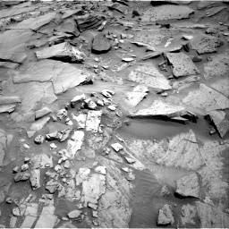 Nasa's Mars rover Curiosity acquired this image using its Right Navigation Camera on Sol 1346, at drive 1418, site number 54