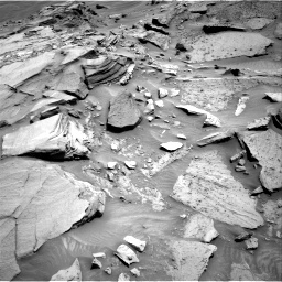 Nasa's Mars rover Curiosity acquired this image using its Right Navigation Camera on Sol 1346, at drive 1430, site number 54