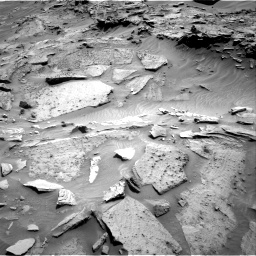 Nasa's Mars rover Curiosity acquired this image using its Right Navigation Camera on Sol 1346, at drive 1448, site number 54