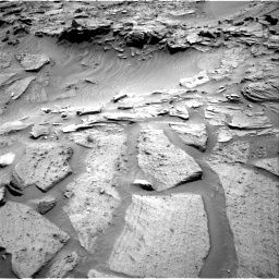 Nasa's Mars rover Curiosity acquired this image using its Right Navigation Camera on Sol 1346, at drive 1454, site number 54