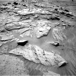 Nasa's Mars rover Curiosity acquired this image using its Right Navigation Camera on Sol 1346, at drive 1472, site number 54