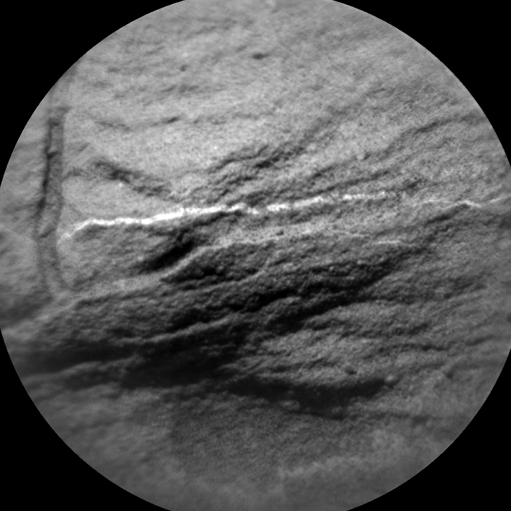 Nasa's Mars rover Curiosity acquired this image using its Chemistry & Camera (ChemCam) on Sol 1346, at drive 1238, site number 54