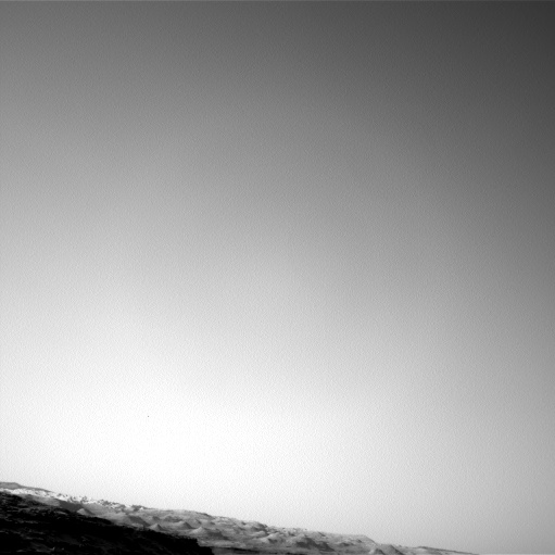 Nasa's Mars rover Curiosity acquired this image using its Left Navigation Camera on Sol 1347, at drive 1490, site number 54